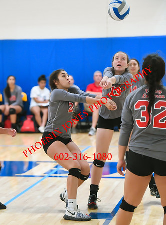 9-23-17 - North Pointe Prep vs. Valley Lutheran (Desert Classic) Volleyball