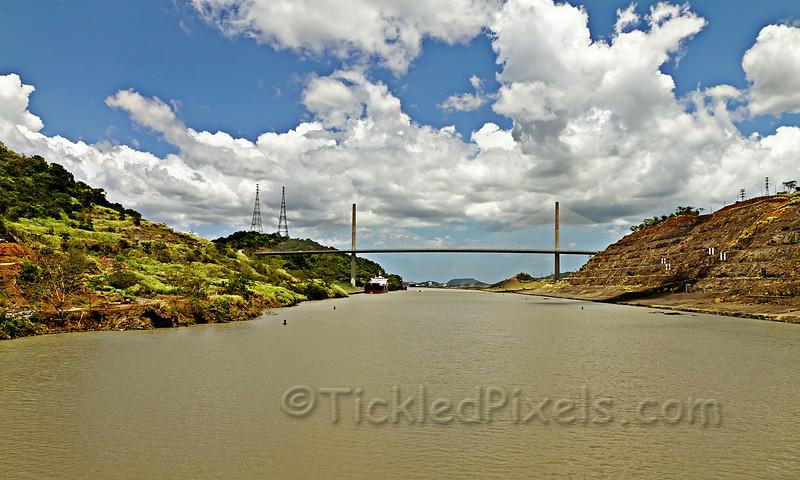 Approaching the Centennial Bridge