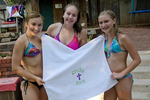 2012 Emily Stabler Baptism