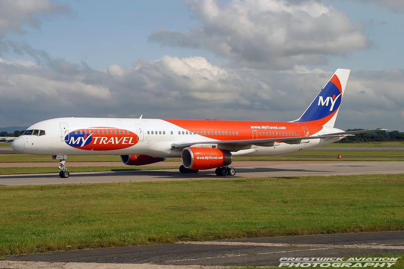 G-PIDS. Boeing 757-225. My Travel Airways. Manchester. 170704.