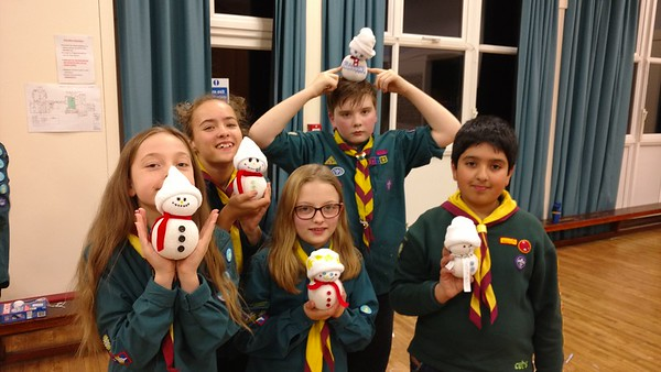 SCOUTS: Troop Night - Christmas Decoration crafts