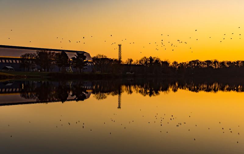 Sunset-Goodyear-Blimp-Hanger-WingfootLake.jpg