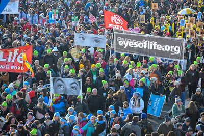 MARCH FOR LIFE, WASHINGTON DC