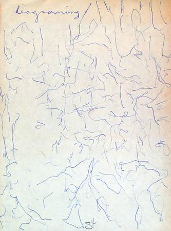 Using Blue Pen by Richard Lazzara