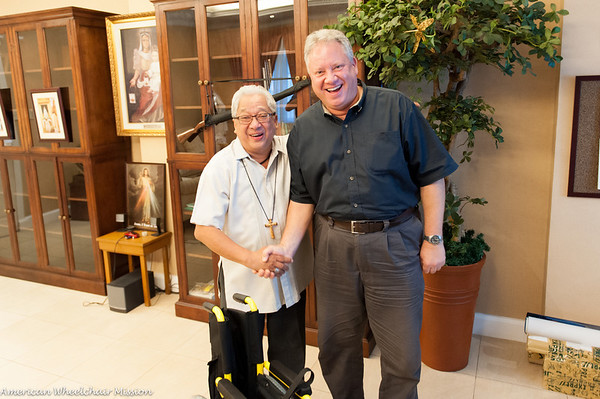 Naga City: Meeting With Archbishop Rolando Tirona-Palacio