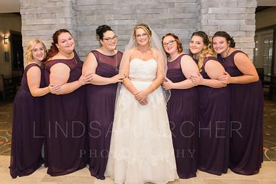 Amanda and Bridesmaids