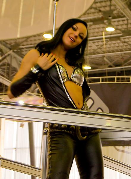 Nival girl on Igromir 2008
