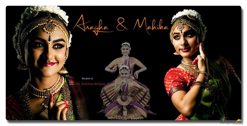 Anagha & Mahika's Pre-Arangetram Portraits 2021