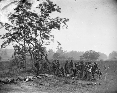 Antietam burial