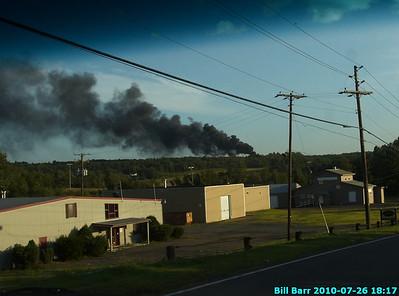 Tire Fire, Hazle Twp. 7/26/10