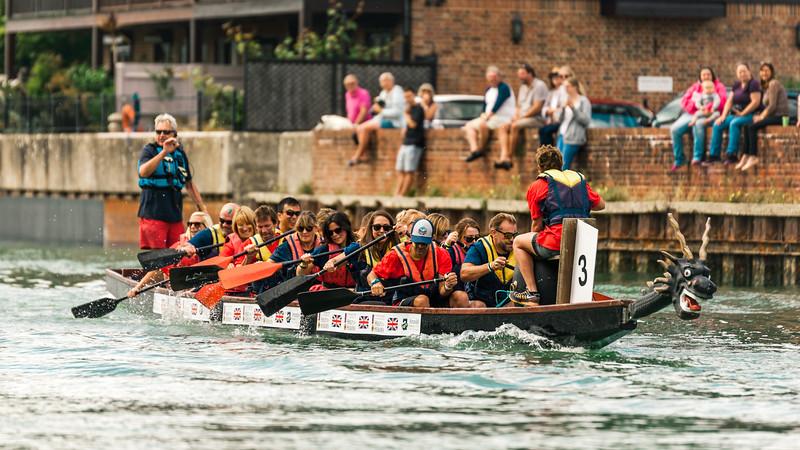Arundel Boat Race 2018 - Team Distruption