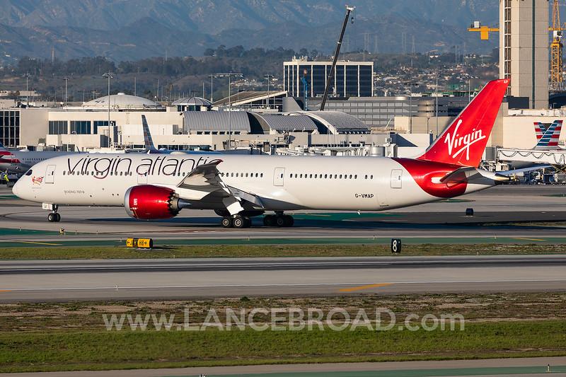 Virgin Atlantic 787-9 - G-VMAP - LAX