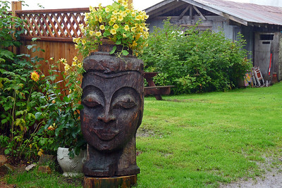 DAY 244 - September 1, 2011 - Tiki Head in Tenakee Cynthia Meyer, Tenakee Springs, Alaska