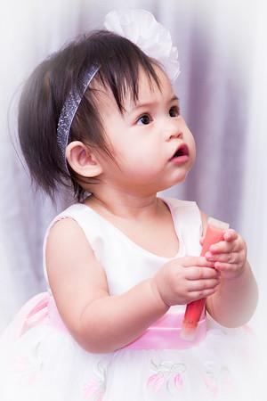 Angelica Oum 1st Birthday:  October 25, 2015