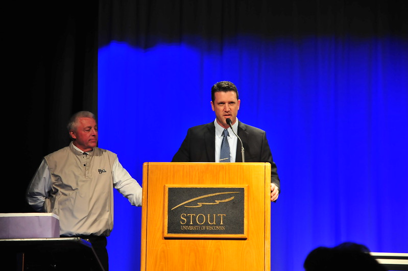 Garrett Sr Awards Night for College Athletes