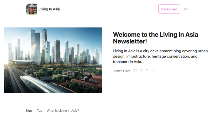 Living In Asia Newsletter