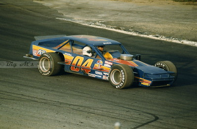 Oxford Plains Speedway in the 1980's