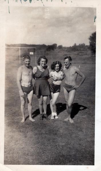 1942 Doug, Gerry, Viv and Doc.jpeg