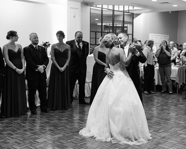 First Dance Pam Krzyzek & Nathaniel Nate Gogal New England Wedding- Bride Groom Candid Formal Bridal Church Ceremony Fun Portrait Photographer Lifestyle Photojournalism Local Small Business Kimberly Hatch Photography St Mary's Holyoke Springfield Western