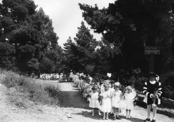 Long Line of Girls