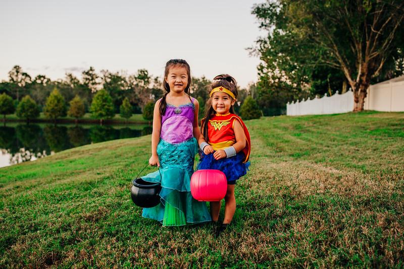Chan and Wilson Halloween 2018