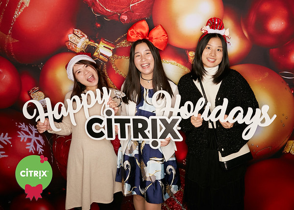 Citrix Holiday Party 2019