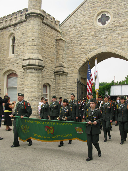 Lane Tech High School - Warrior Battalion