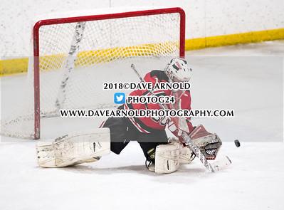 1/15/2018 - Boys Varsity Hockey - Reading vs BC High