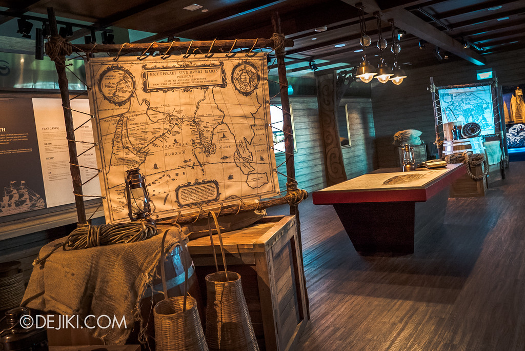 Resorts World Sentosa - Maritime Experiential Museum 2017 / Ship Interior