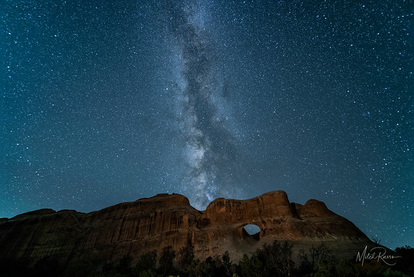 Moab Night Sky