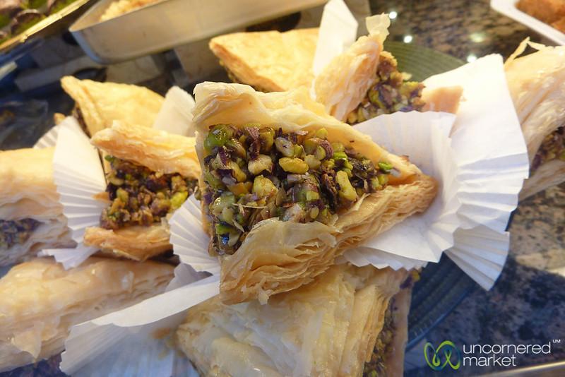 Turkish Desserts - Istanbul, Turkey