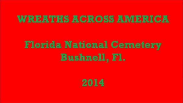 2014 Wreaths Across America Bushnell