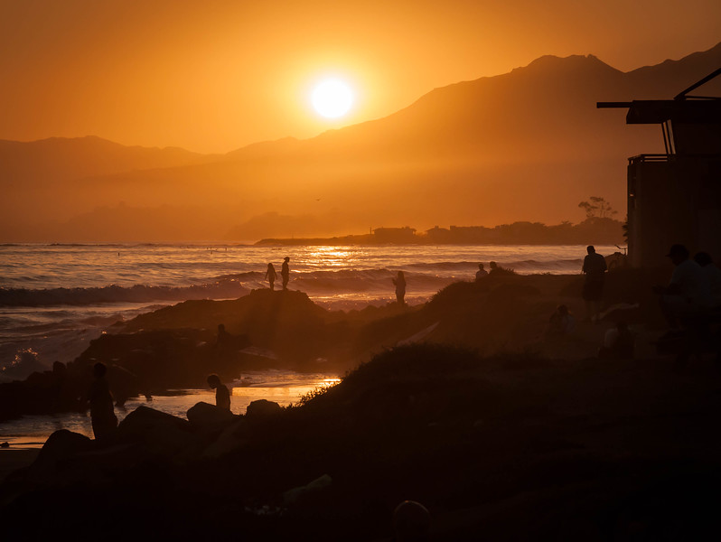 Playing with Gold - Carpinteria, CA, USA
