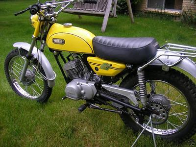 1970 125 Enduro