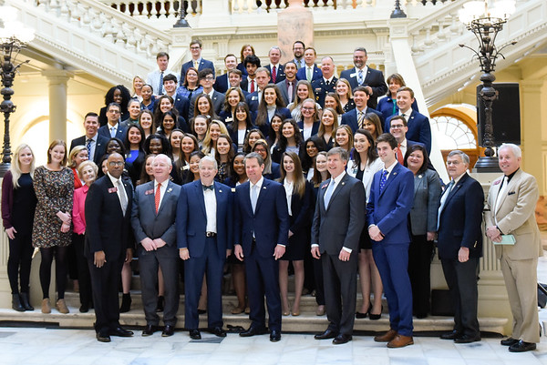 Georgia College Day at the Capitol 2019