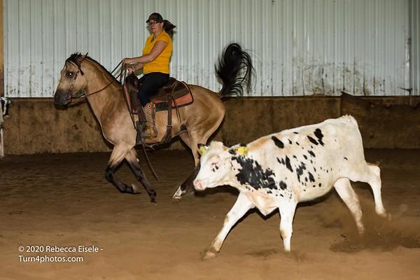 08/30/20 Cutting Horse Practice