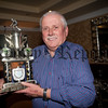 Bessbrook Outdoor Bowls Awards. Pictured is Seamus Turley who won the Clubperson of the Year alongside having the Highest Score overall during the season and the Midweek winner. RS1548002