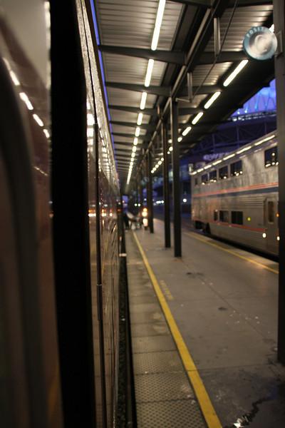 Seattle King Street Station Platform shot.