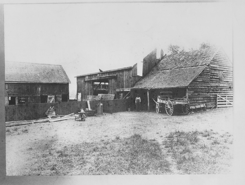 Barns in Union with an unknown  location.