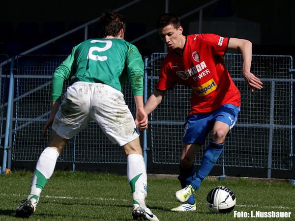 Viktoria Plzeň B - Loko Vltavín 2:1 (2:0)