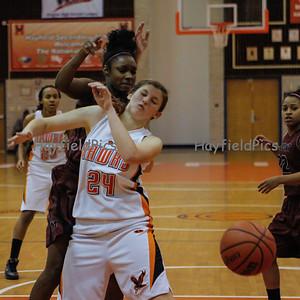 Girls Basketball Mount Vernon 12/11/12