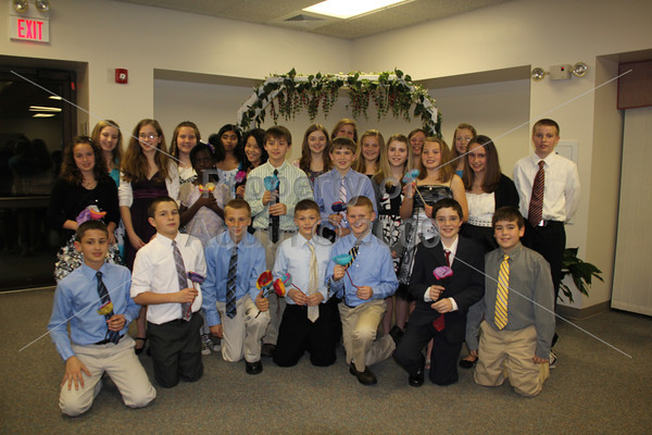 31st annual 6th grade seder meal . 3.29.12