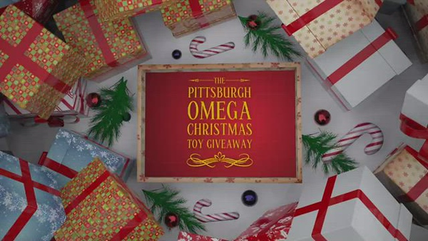 Pittsburgh Omega Christmas Toy Giveaway 2020