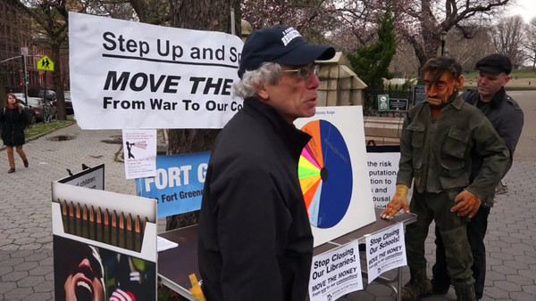 Tax Day Speak Out in Fort Greene