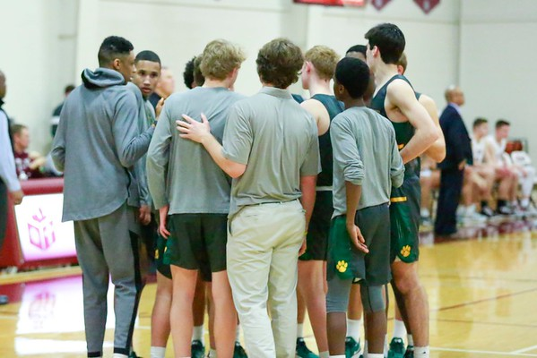 STAB boys basketball versus Collegiate 2020