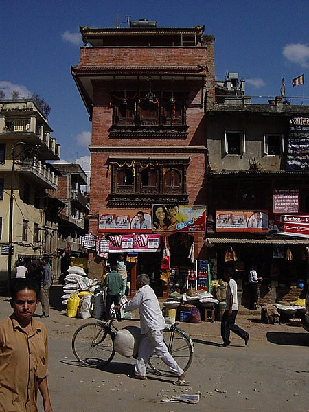 street scene, Kathmandu