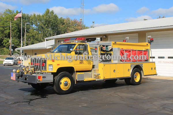 Parma - Sandstone, Michigan, Fire Department