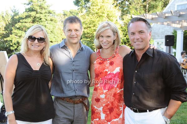 Debra Halpert, Gerry Logue, Libby Langdon, Keith Ohey photo by Rob Rich © 2010 robwayne1@aol.com 516-676-3939