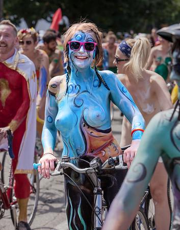 Fremont Summer Solstice Parade 2013 (some nudity)