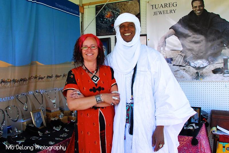 Terri Hendrix and Elhadji Kaumama.jpg